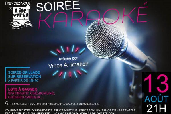 Soirée Karaoké 13 août !